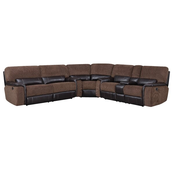 Dail Left Hand Facing Reclining Sectional By Red Barrel Studio