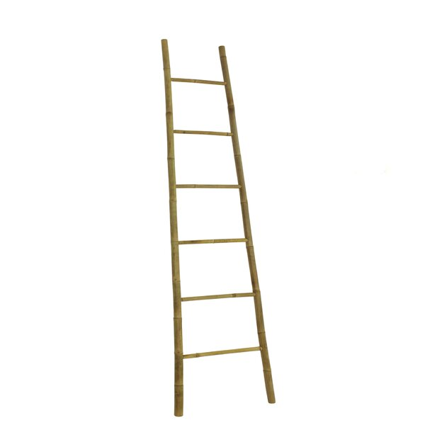 Bamboo Bath Towel 8 ft Decorative Ladder by Mistana