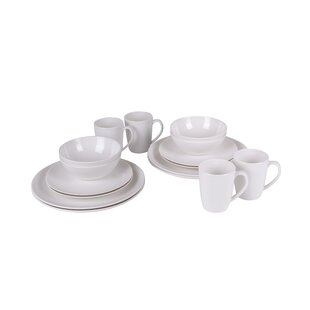 16 Piece Melamine Dinnerware Set with Mug Service for 4  sc 1 st  Wayfair & Melamine Plates And Bowls | Wayfair.co.uk