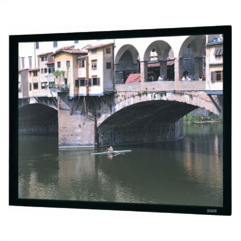 Imager Black Fixed Frame Projection Screen by Da-Lite