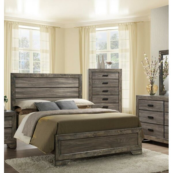 Woosley Queen Upholstered Standard Bed by Union Rustic