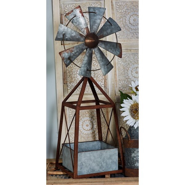 Farmhouse Windmill Planter by Cole & Grey