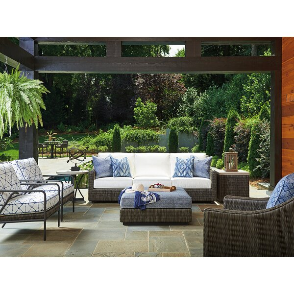Cypress Point Ocean Terrace Lounge Seating Group with Cushions by Tommy Bahama Home Tommy Bahama Home