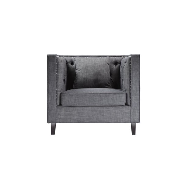 Malcolm Chesterfield Chair by House of Hampton
