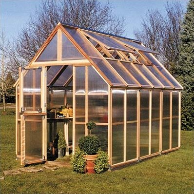 Mt. Hood 6 Ft. W x 12 Ft. D Greenhouse by Sunshine Gardenhouse