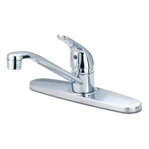 Just Manufacturing Single Handle Standard Kitchen Faucet