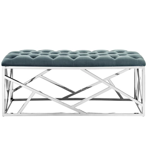 Colworth Metal And Metal Bench By Everly Quinn by Everly Quinn Today Sale Only