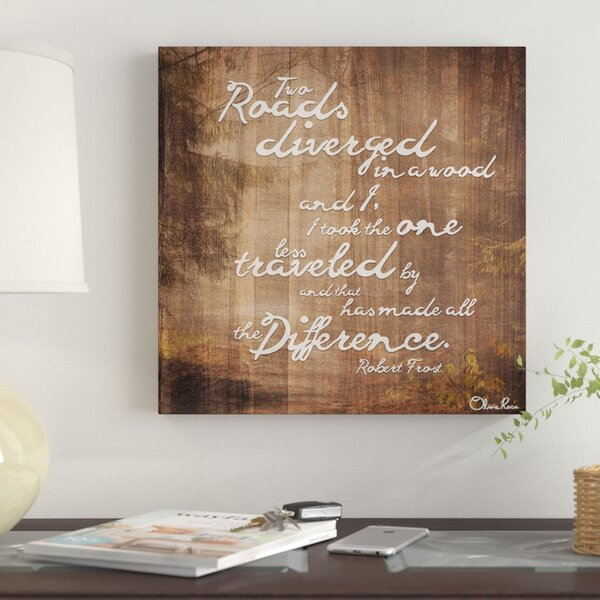 Olivia Rose Graphic Art Print Wood by Winston Porter
