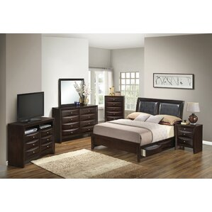 Medford Storage Panel Configurable Bedroom Set by Latitude Run