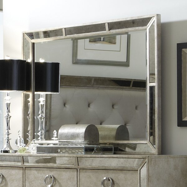 Halstead Rectangular Dresser Mirror by House of Hampton