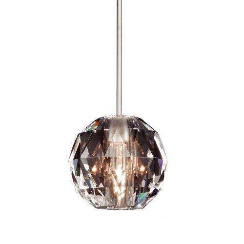 Crystal Polaris Monopoint 1-Light Globe Pendant by WAC Lighting