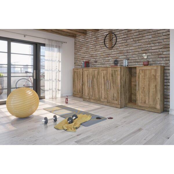 Pisgah Storage Murphy Bed with Mattress by Latitude Run Latitude Run