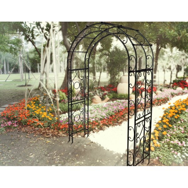 Victorian Steel Arbor by Griffith Creek Designs