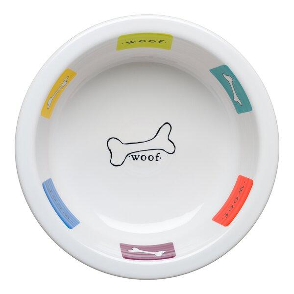 Woof Dog Decorative Bowl by Fiesta