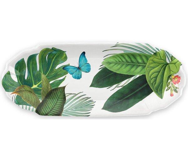 Virgie Appetizer Melamine Platter by Beachcrest Home