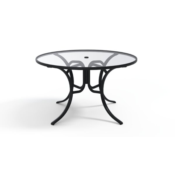 Glass Tables Glass Dining Table by Telescope Casual
