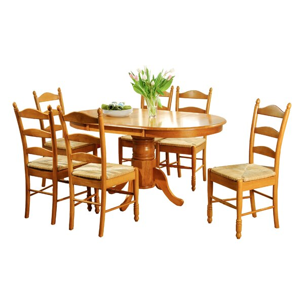 Carthage 7 Piece Extendable Dining Set by August Grove August Grove
