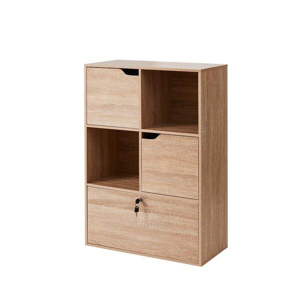 Mclamb Yak About It Locking Safe Floor Standard Bookcase By Rosalind Wheeler