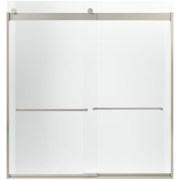 Levity 39.813'' x 79.75'' Double Sliding Panel and Assembly Kit for Bath Door with CleanCoat® Technology by Kohler