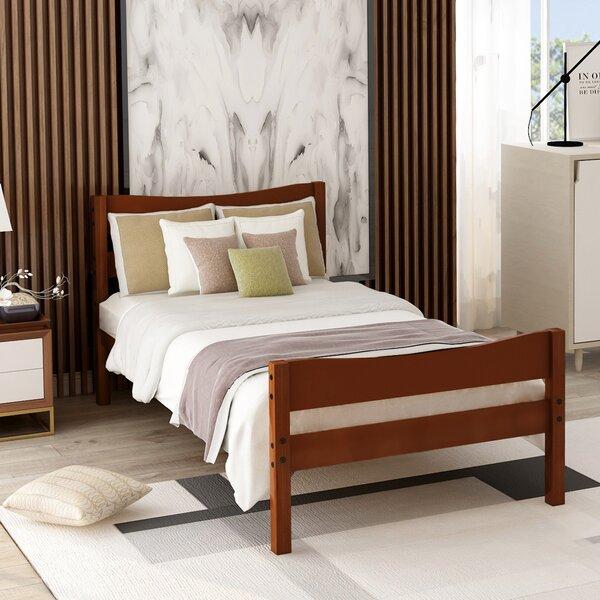 Twain Wood Twin Platform Bed by Red Barrel Studio