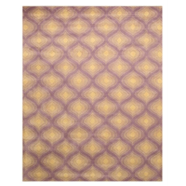 Purple Paris Area Rug by Eastern Rugs