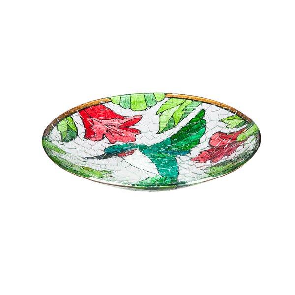 Hummingbird Birdbath by Evergreen Flag & Garden