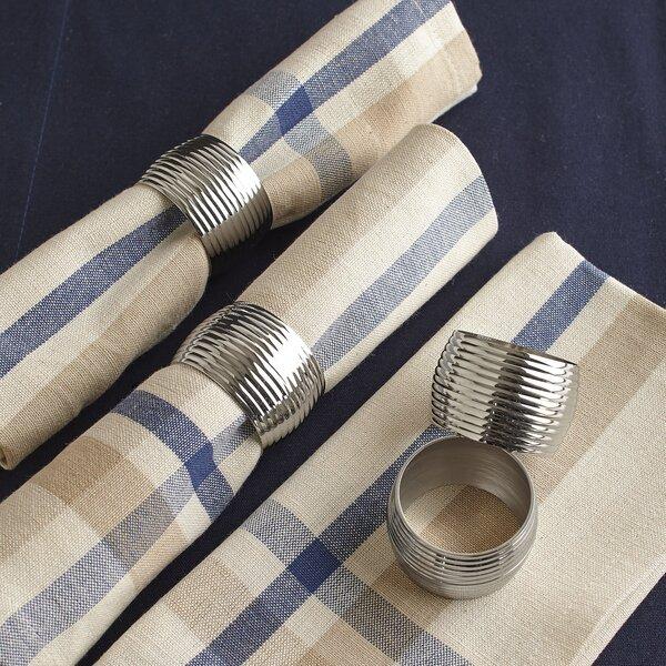 Burgess Napkin Rings (Set of 4) by Birch Lane™