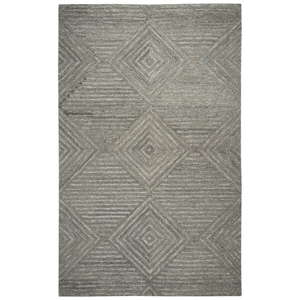 Yucca Place Hand-Tufted Gray Area Rug by Langley Street
