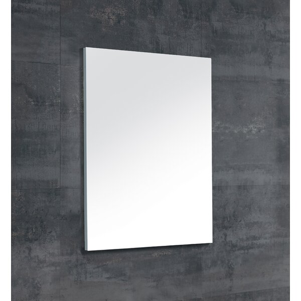 Swint Modern and Contemporary Frameless Bathroom/Vanity Mirror