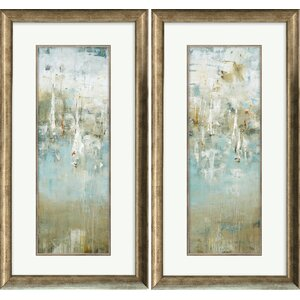 'Sailor's Muse' 2 Piece Framed Painting Print Set by Andover Mills