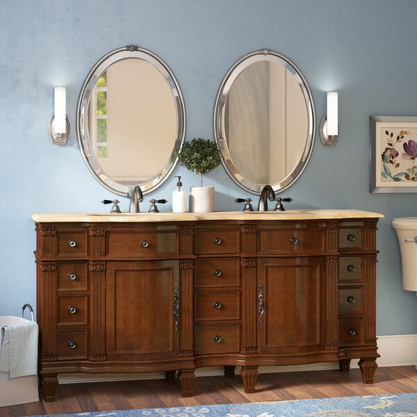 Kehl 72 Double Bathroom Vanity Set by Astoria Gran