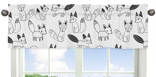 Fox 54 Window Valance by Sweet Jojo Designs