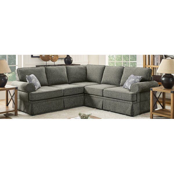 Hermina Sectional By Gracie Oaks New Design