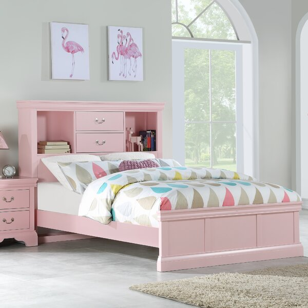 Marquand Wooden Storage Bed by Alcott Hill
