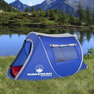 Wakeman Pop-up Barrel 2 Person Tent