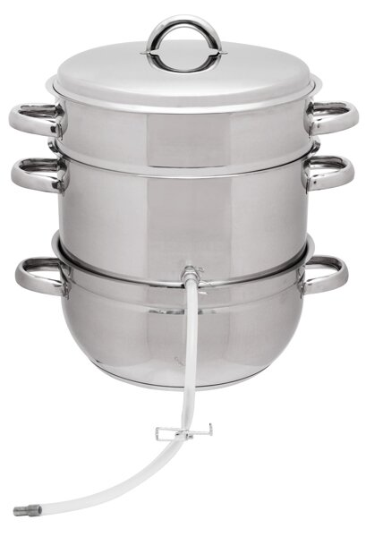 Stainless Steel Steam Juicer by Victorio