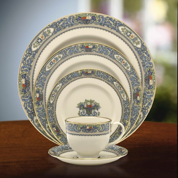 Autumn Bone China 5 Piece Place Setting Service For 1 By Lenox.