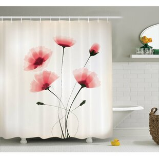 Find Colvin Romantic Buds Flowers Shower Curtain By Winston Porter