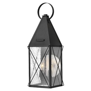 Price Check Smardale 2-Light Outdoor Wall Lantern By Gracie Oaks
