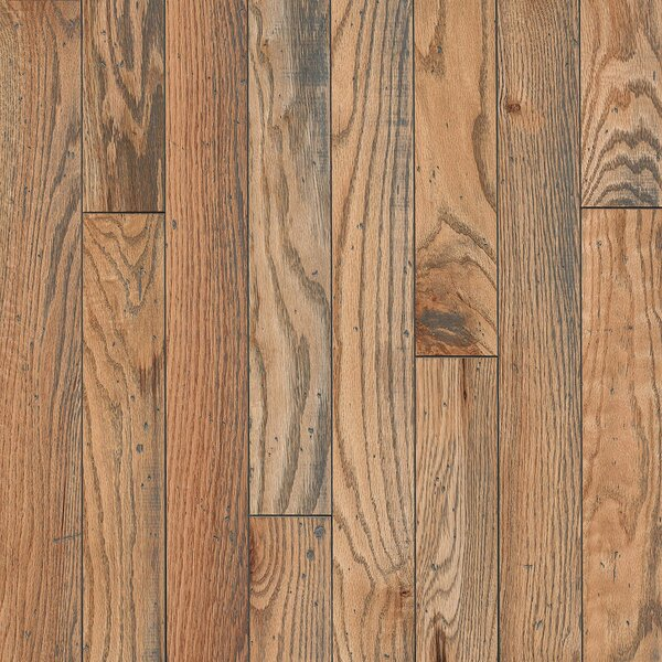 3-1/4 Solid Oak Hardwood Flooring in Timeless Natural by Armstrong Flooring