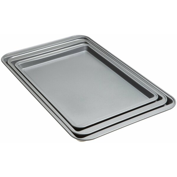 3 Piece Non-Stick Cookie Sheet Set by Good Cook