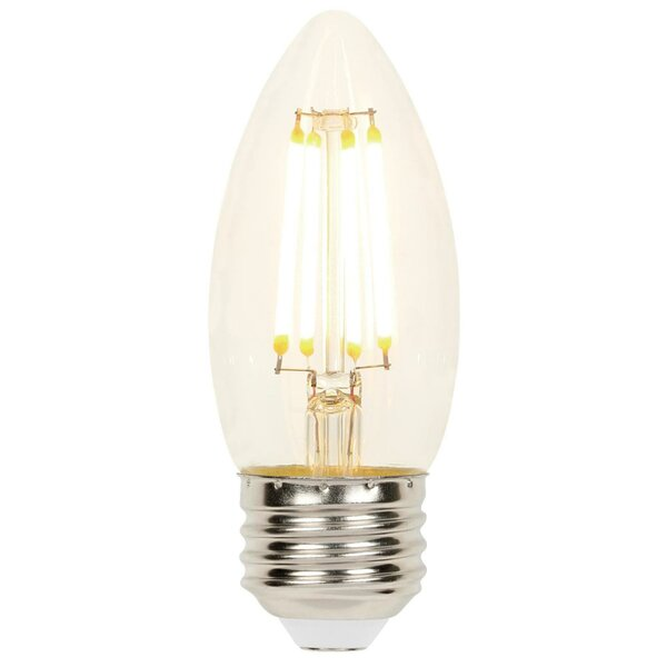 4W E26 Dimmable LED Candle Light Bulb (Set of 2) by Westinghouse Lighting