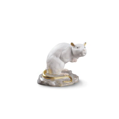 The Rat Mini Figurine Lladro -  01009123