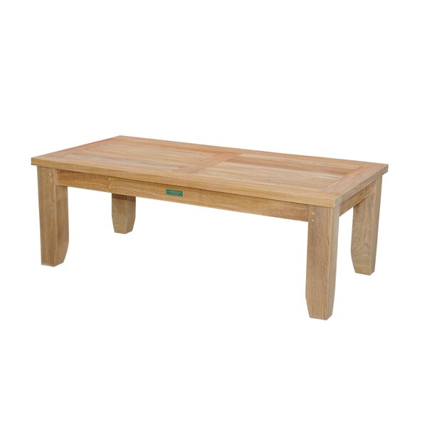 Luxe Teak Coffee Table by Anderson Teak