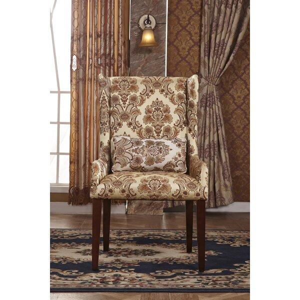 Classic Wingback Chair by Corzano Designs