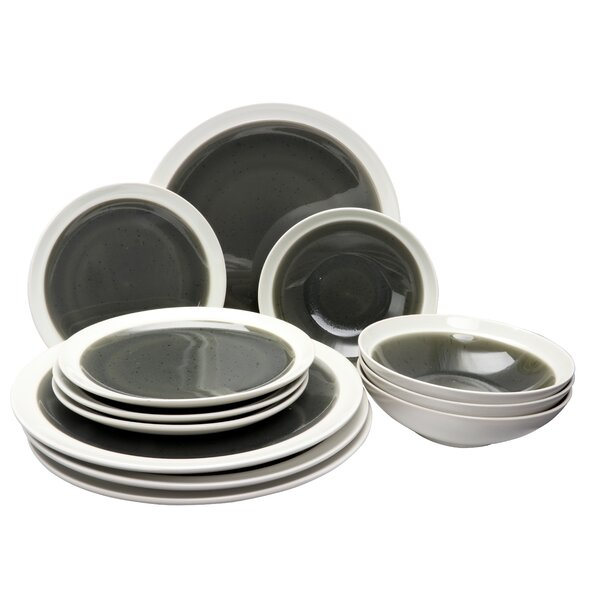 Cayden 12 Piece Dinnerware Set, Service for 4 by Williston Forge