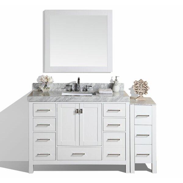 Laub 61 Single Bathroom Vanity Set with Mirror by House of Hampton