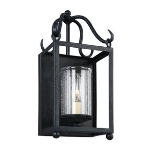 Read Reviews Briscoe 1-Light Outdoor Flush Mount By Darby Home Co