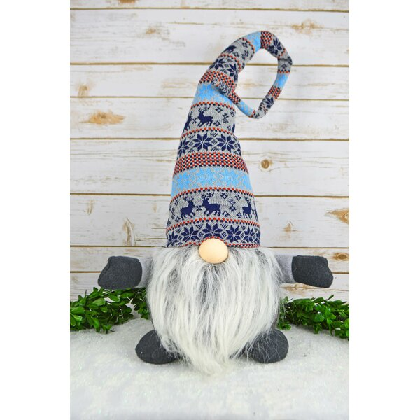 Fadil Big Fabric Gnome Decoration by The Holiday Aisle