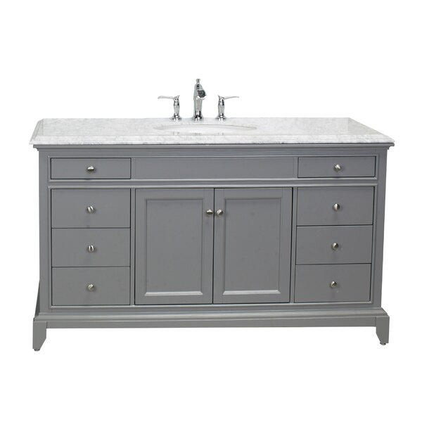 Pineville 60 Single Bathroom Vanity Set